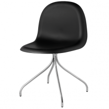 gubi_chair_black_hirek_swivel_base_front_product
