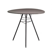 Leaf table H74 ø100 1 front