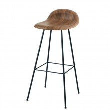 Gubi center base bar stool