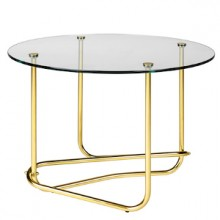 FRONT Mategot glass coffee table_clear glass_side