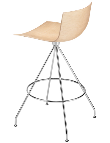 Catifa 46 Counter Stool With Trestle Swivel Vliving