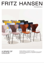 Introducing 'A Sense of Colour' – a new palette of 16 compatible colours and 7 new bases for Ant™, Grand Prix™ and Series 7™ by Arne Jacobsen.